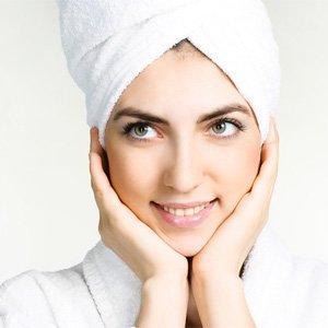 Питательная маска для сухих волос.